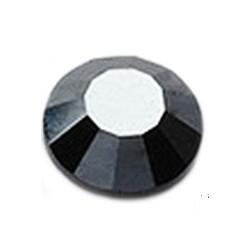 Cyrkonie ss30 hot-fix (6,6–6,9 mm) Hematite 288 szt.