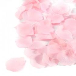 Płatki róż (różowe) - 100 szt.