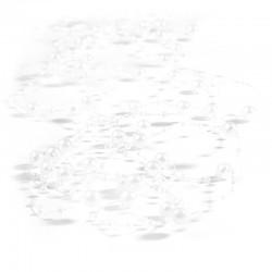 Girlandy perłowe 1,35 m (białe) - 5 szt.