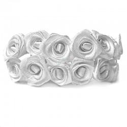 Białe róże 36 szt