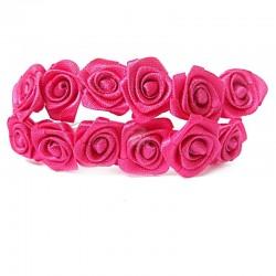 Róże satynowe (różowe) - 36 szt.