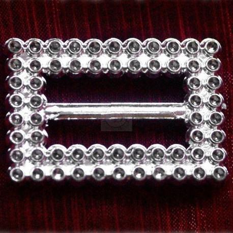 400 szt. Klamra ozdobna (srebrna) BUC3.20