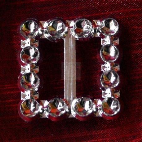 500 szt. Klamra ozdobna (srebrna) BUC2.12