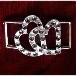 500 szt. Klamra ozdobna (srebrna) BUC11.11