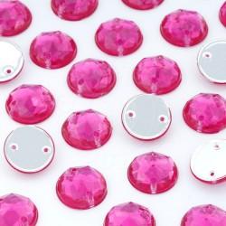 Dżet okrągły z dziurkami 10 mm (różowy ciemny) - 2000 szt.