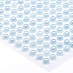 Półperełki okrągłe 2 mm (niebieski) - 176 szt.