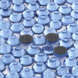Cyrkonie ss30 hot-fix (6,5 mm) błękitny (light sapphire) 288 szt.