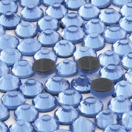 Cyrkonie ss20 hot-fix (4,5 mm) błękitny (light sapphire) 1440 szt.