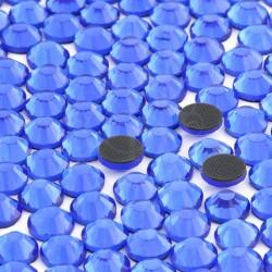 Cyrkonie ss30 hot-fix (6,5 mm) niebieski (sapphire) 288 szt.