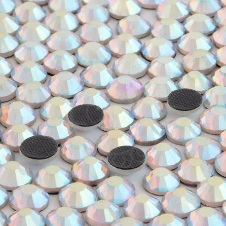 Cyrkonie ss20 hot-fix (4,5 mm) kryształowy opalizujący (crystal AB) 1440 szt.
