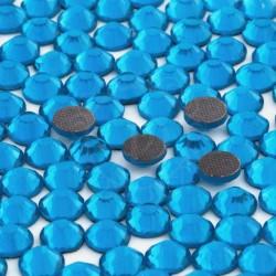 Cyrkonie ss20 hot-fix (4,5 mm) turkusowy (blue zircon) 1440 szt.