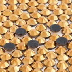 Cyrkonie ss16 hot-fix (3,6–3,9 mm) złote 28800 szt.