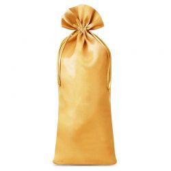 Woreczek satynowy  16 cm x 37 cm (złoty) - 1 szt.