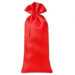 Woreczek satynowy  16 cm x 37 cm (czerwony) - 1 szt.
