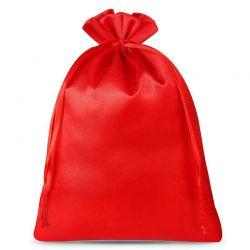 Woreczki satynowe 26 cm x 35 cm (czerwone) - 3 szt.