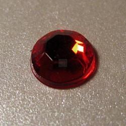 Cyrkonie okrągłe 6 mm (czerwony) - 100 szt.